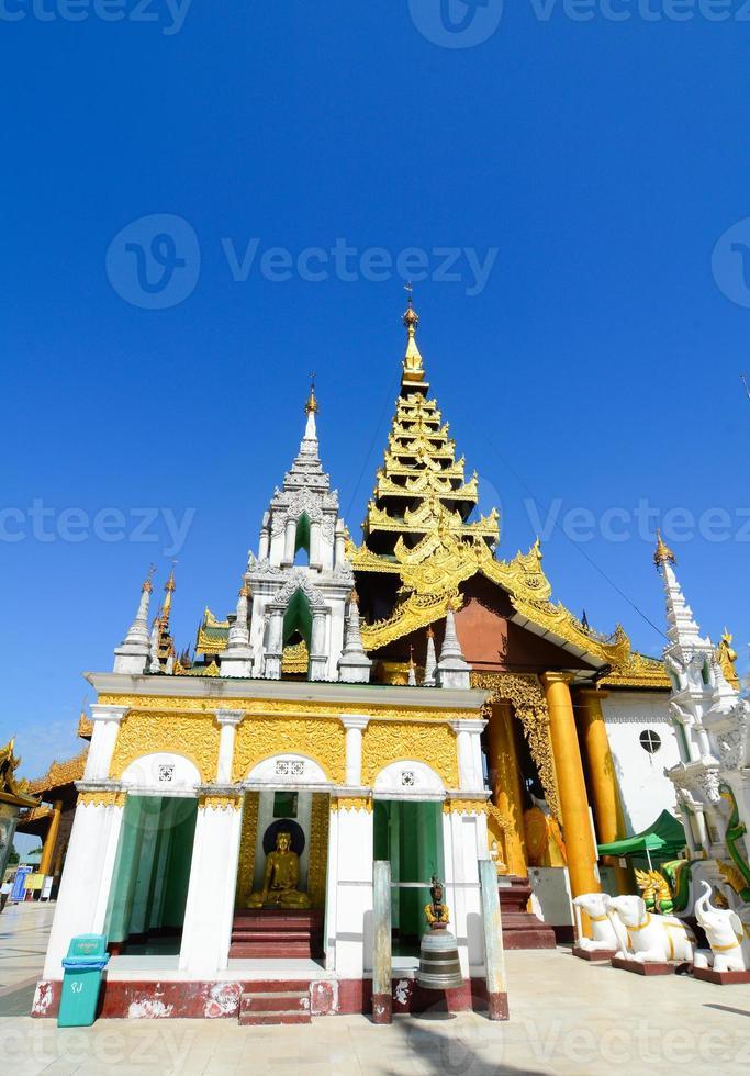 pagode shwedagon paya, yangon, myanmar foto