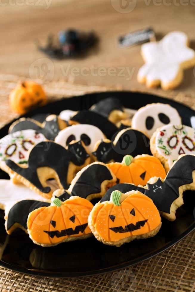 feliz dia das bruxas cookies foto