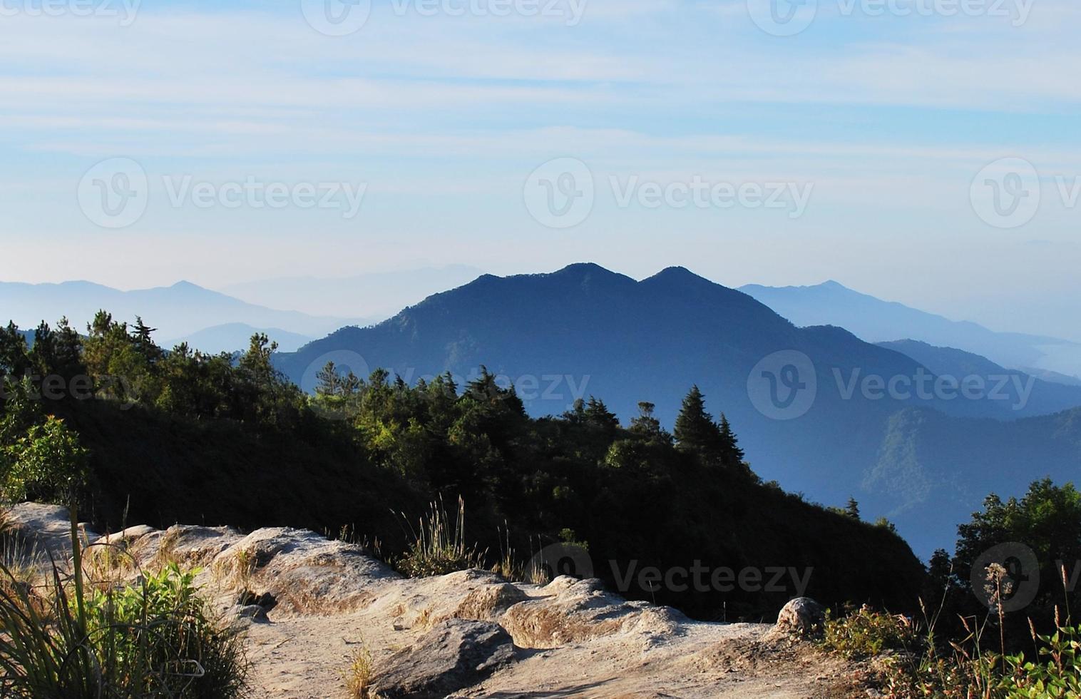 paisagem da montanha foto