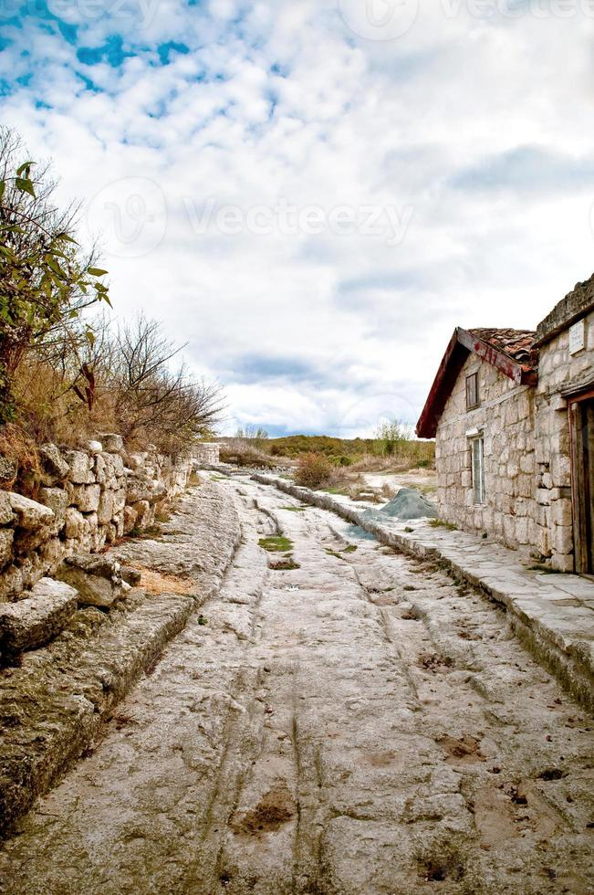 paisagem rodoviária. foto