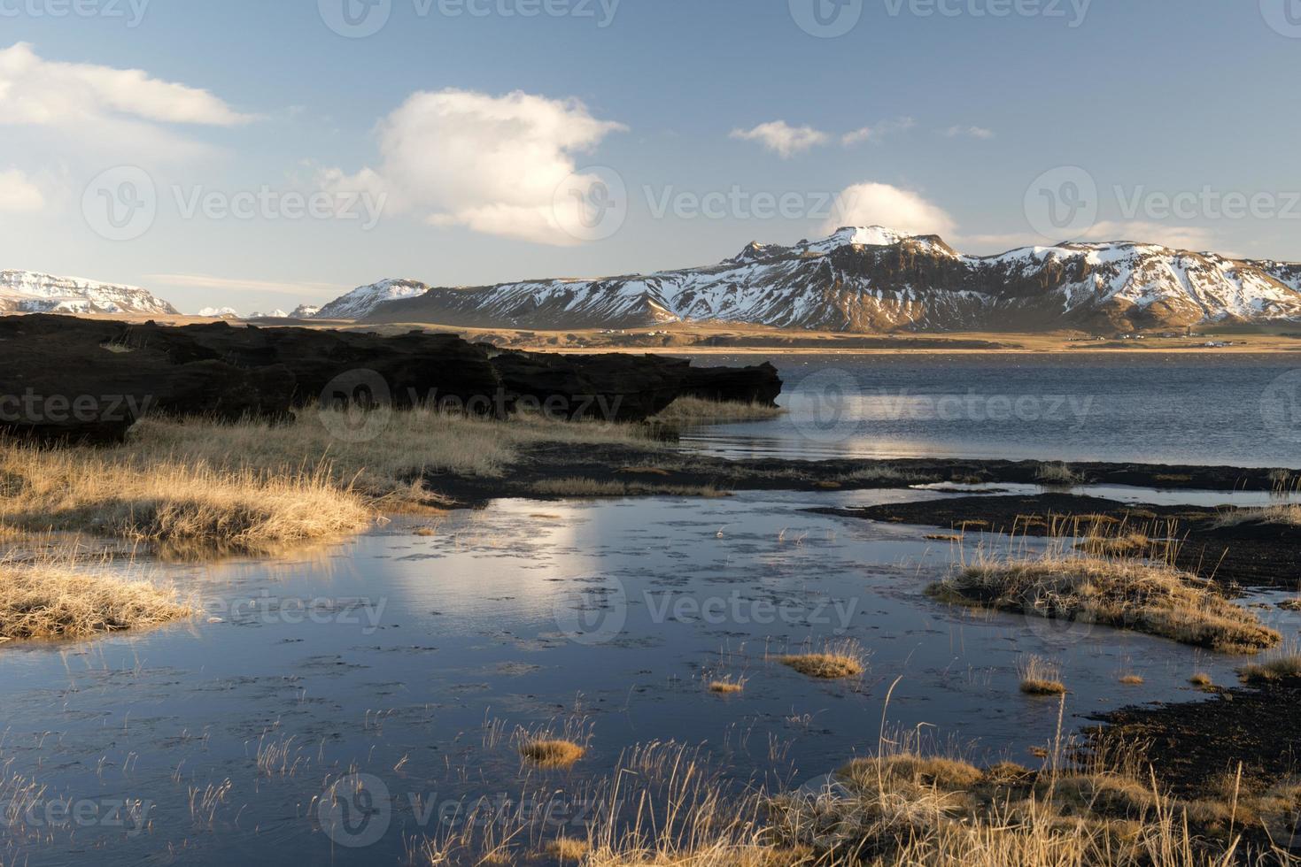 paisagem islandesa foto
