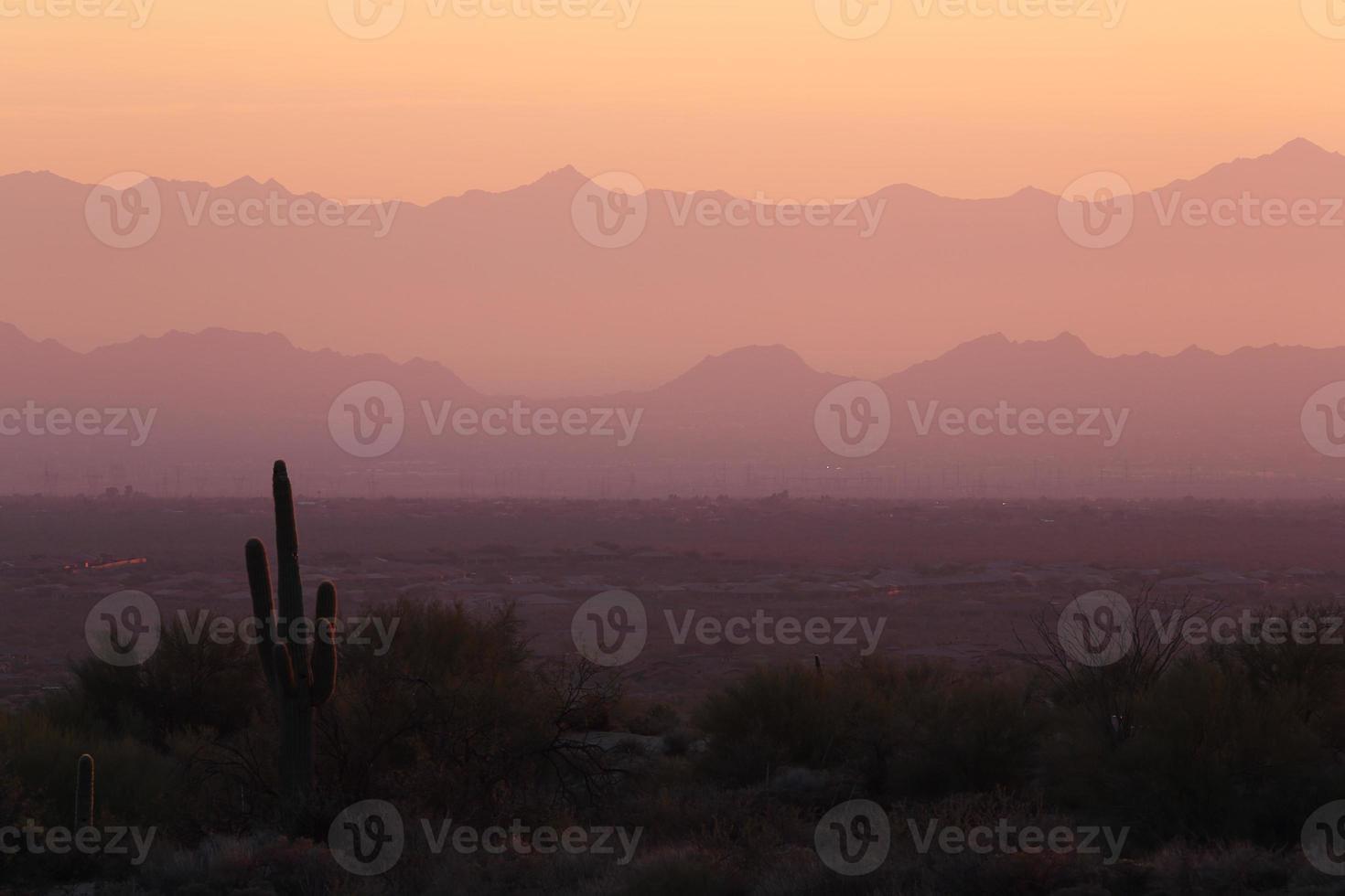natureza e paisagem do deserto sudoeste foto