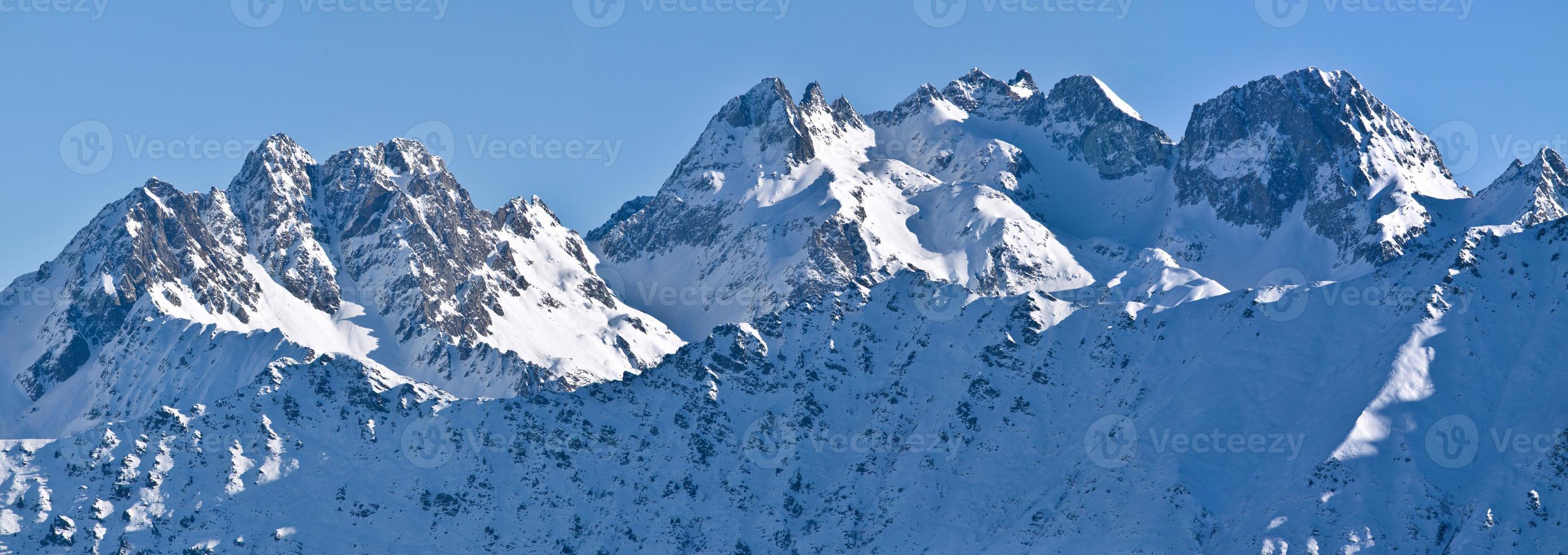 Alpes de inverno foto