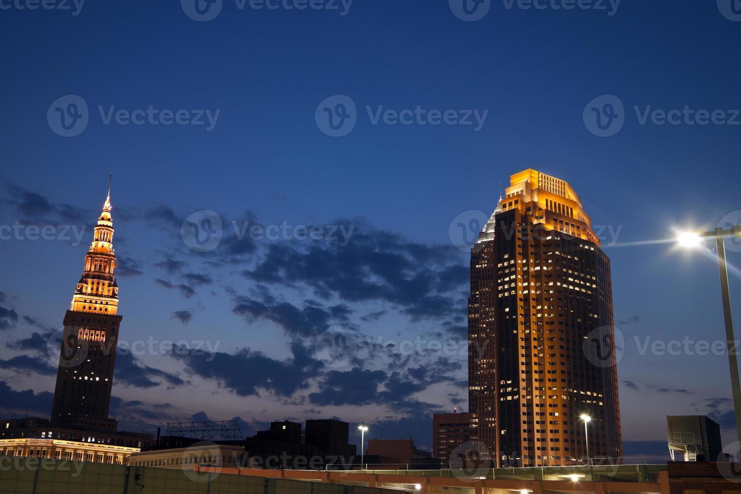 hora da noite em cleveland foto