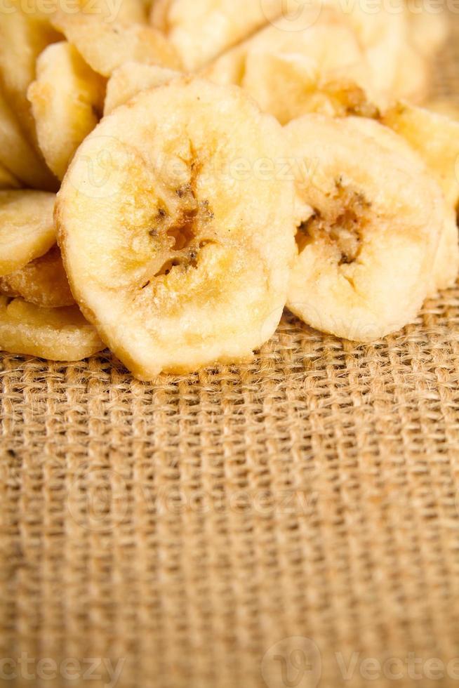 chips de banana foto