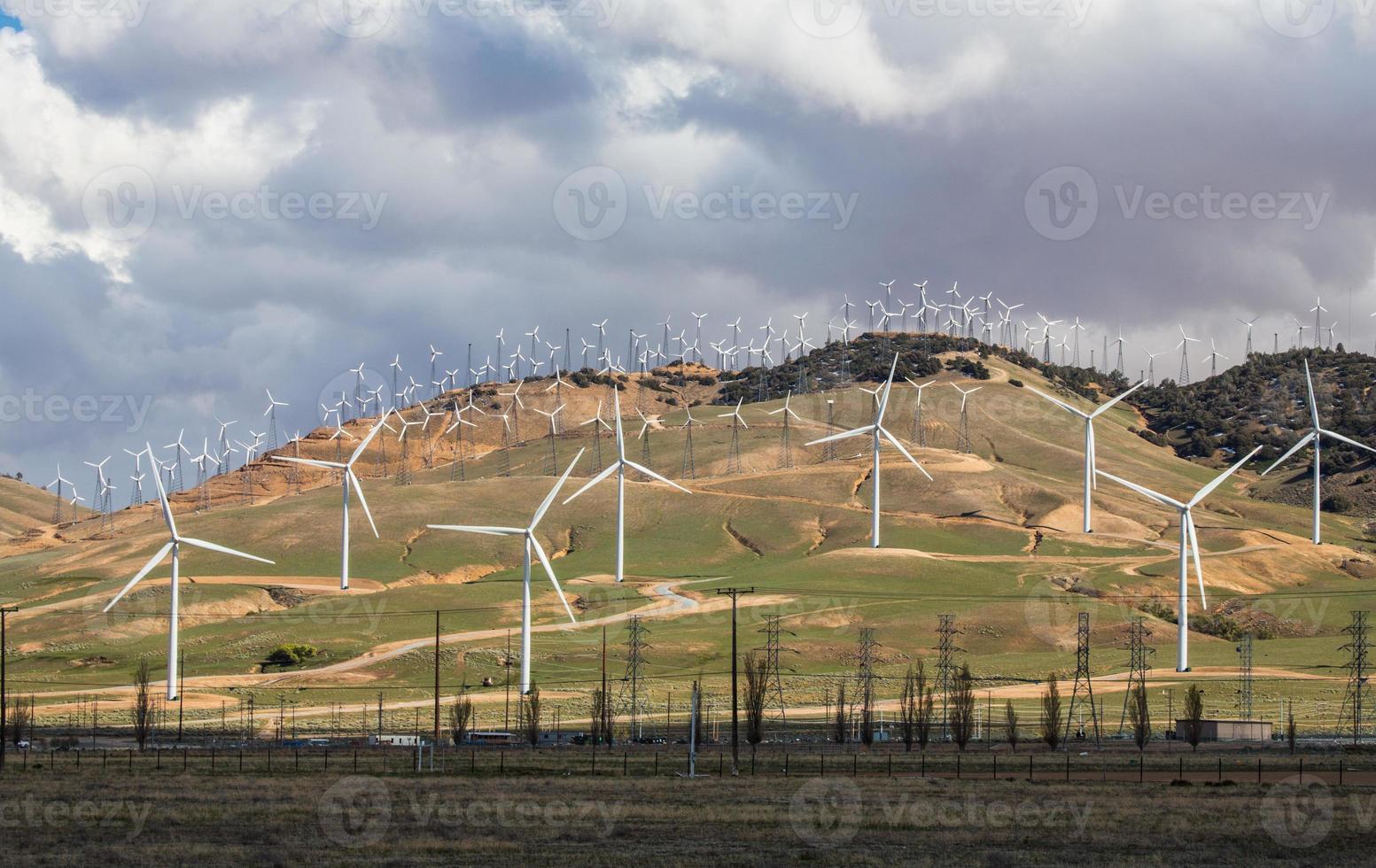 parque eólico de bakersfield foto