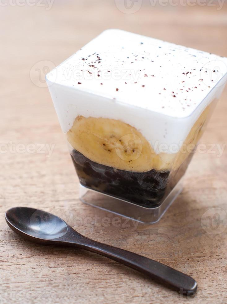 torta de banoffy foto