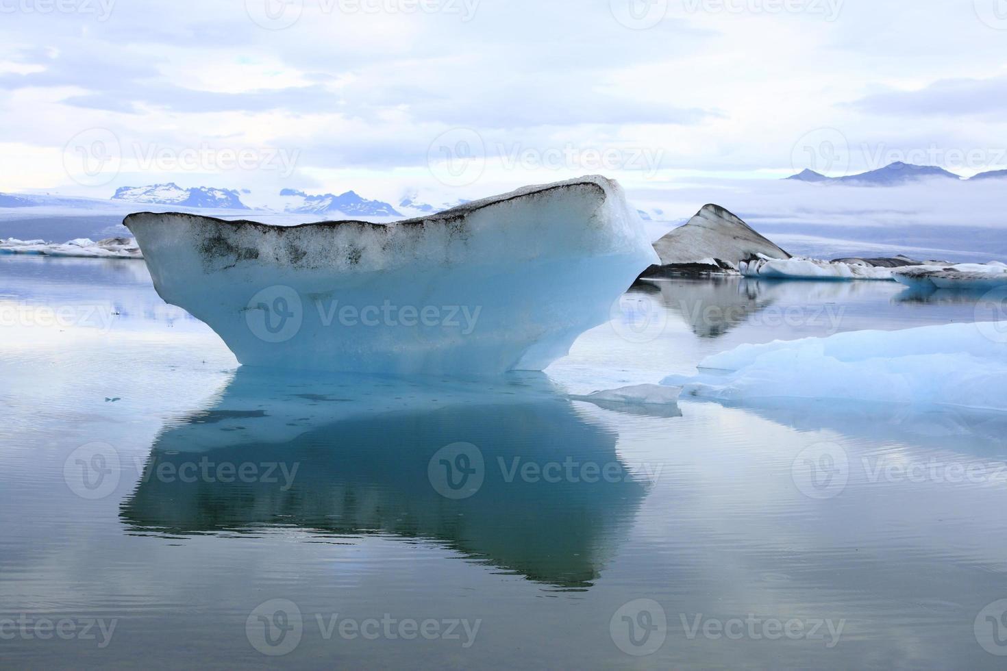 o lago jokulsarlon foto