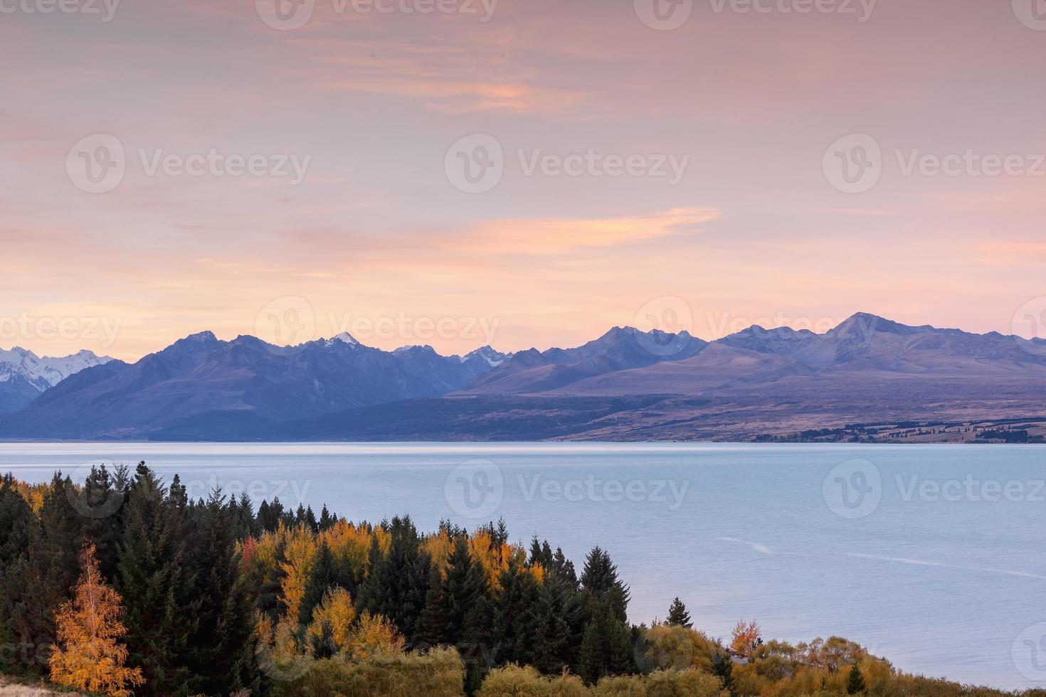 lago glacial pukak foto