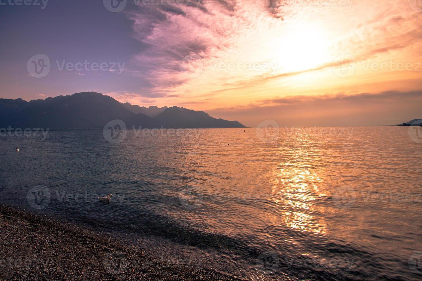 Lago genebra foto
