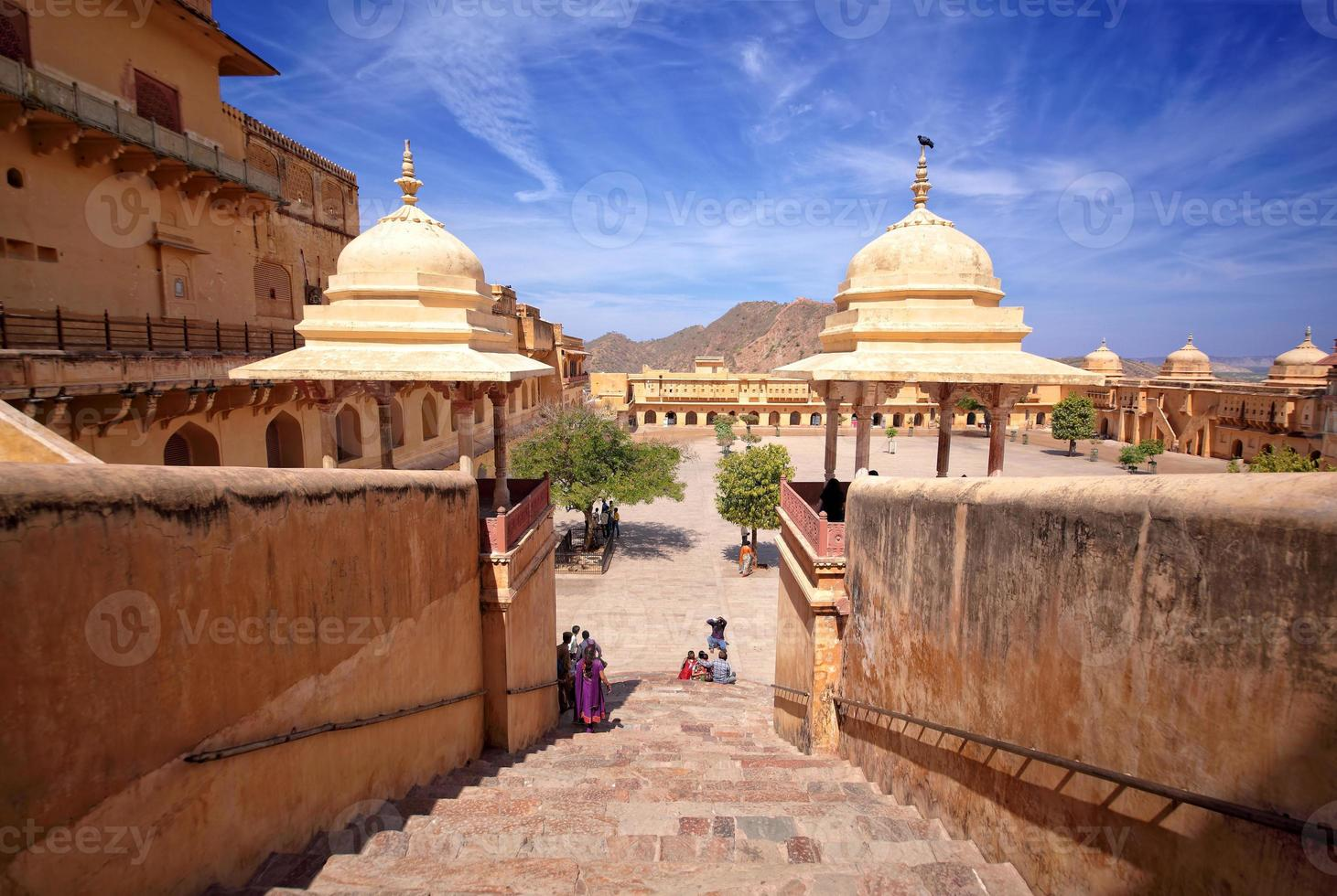 forte âmbar, jaipur, rajasthan, índia foto