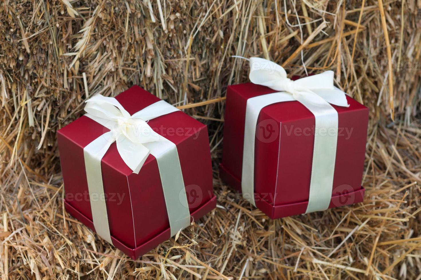 caixas de presente romântico foto