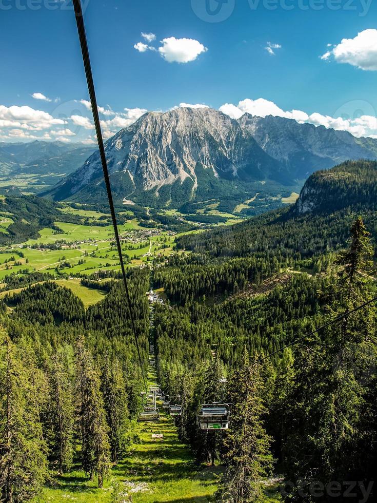 estação de esqui foto