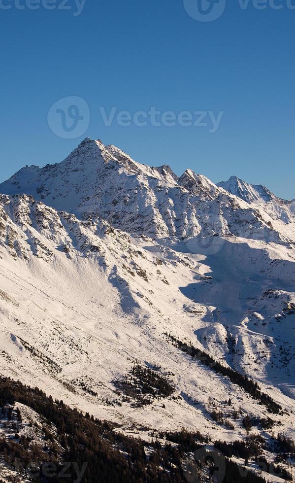 área de esqui verbier foto