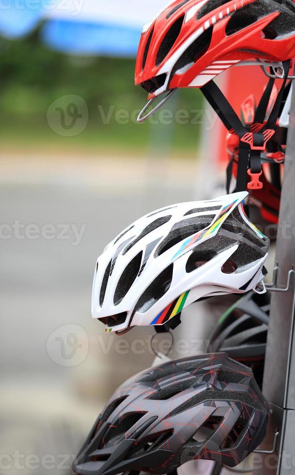 capacete de ciclismo foto