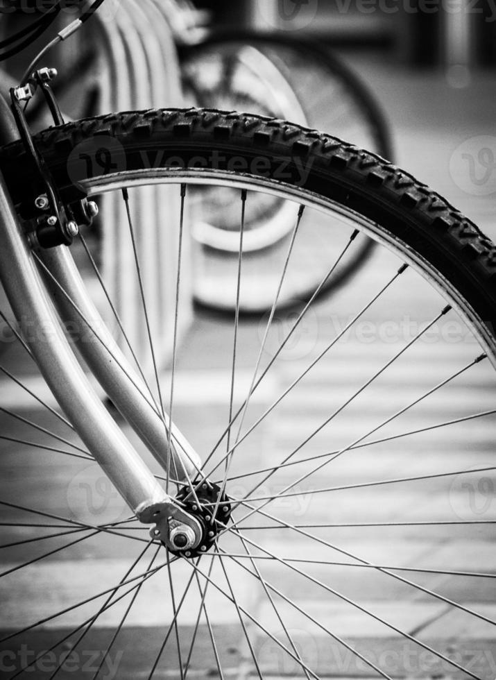 bicicleta solitária foto