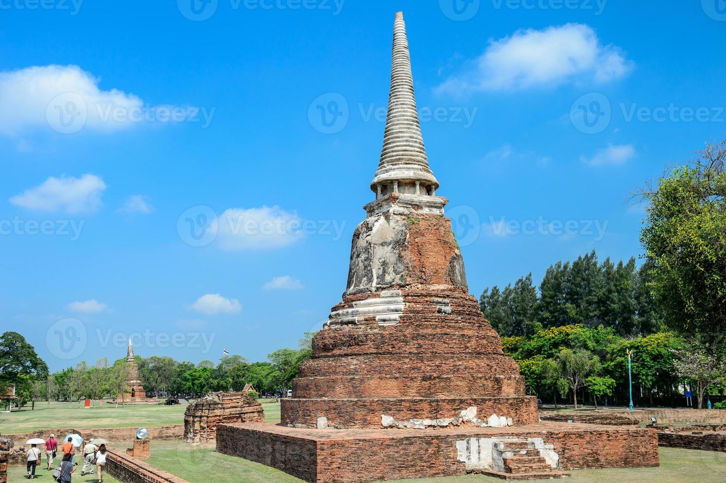 ruínas antigas, tailândia foto