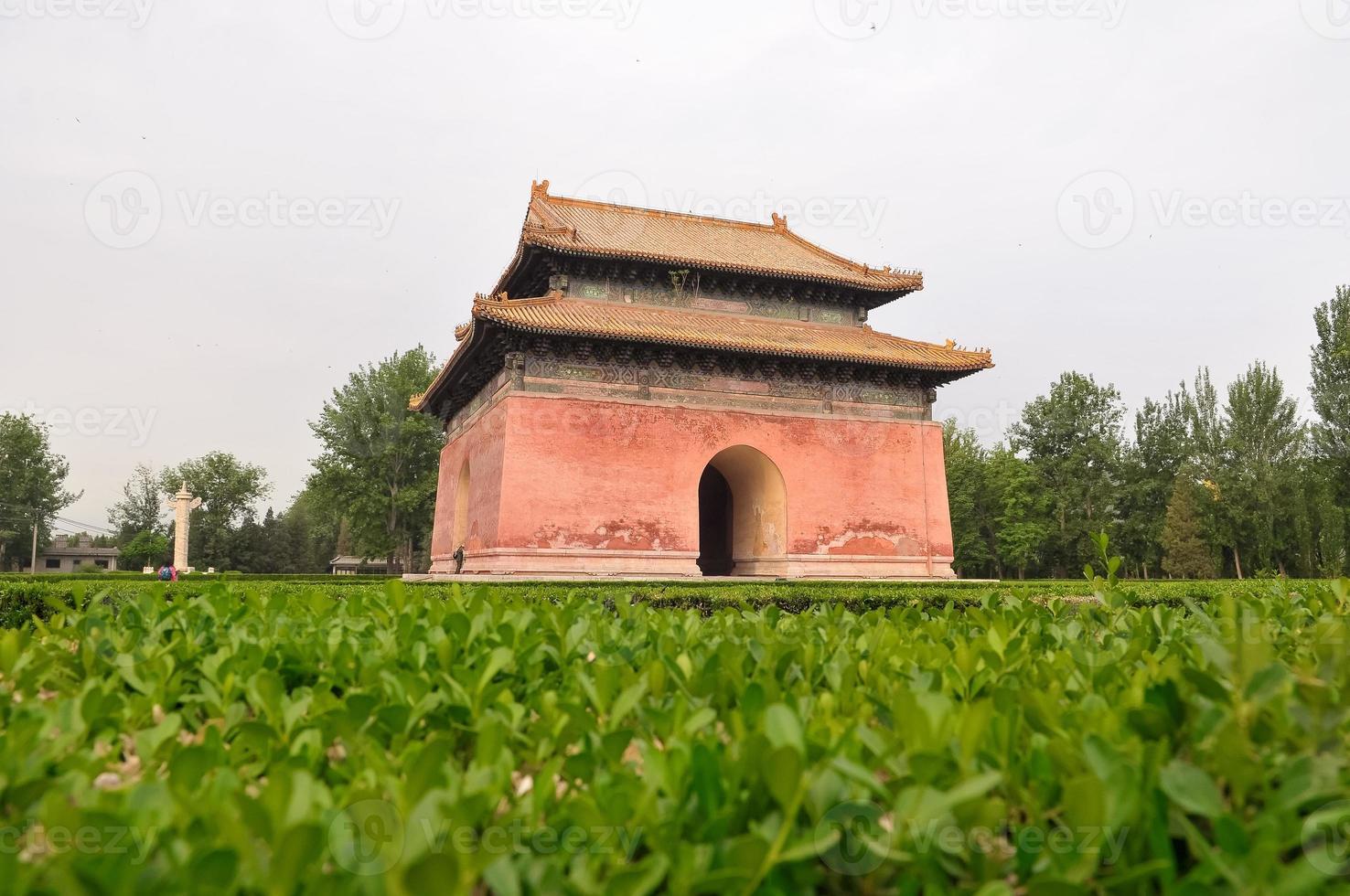 o mausoléu de túmulos ming foto