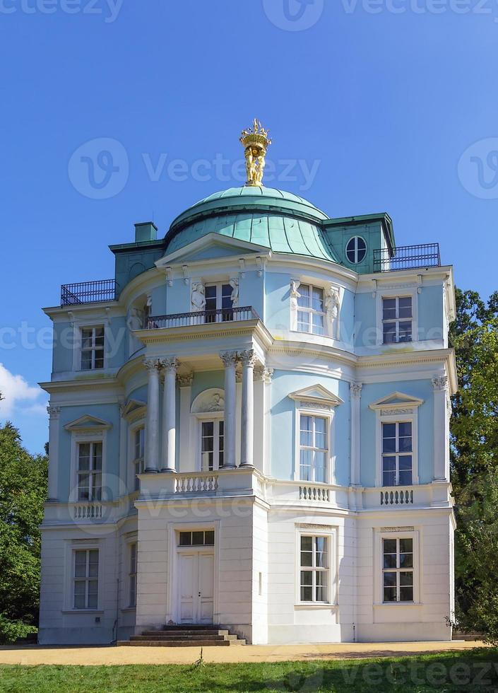 casa de chá belvedere, berlim foto