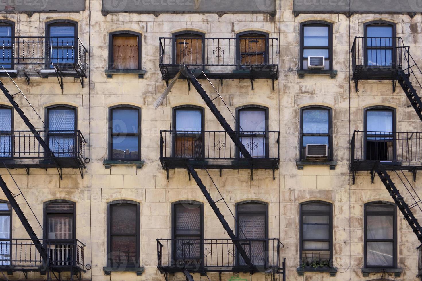 edifício residencial de nova york foto