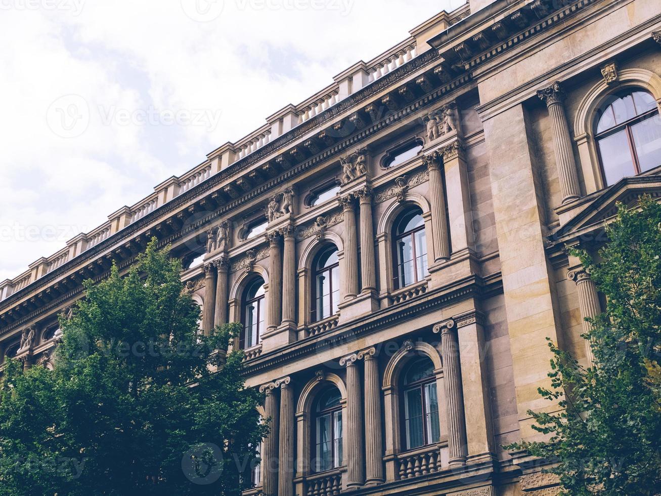 antigo prédio vintage foto
