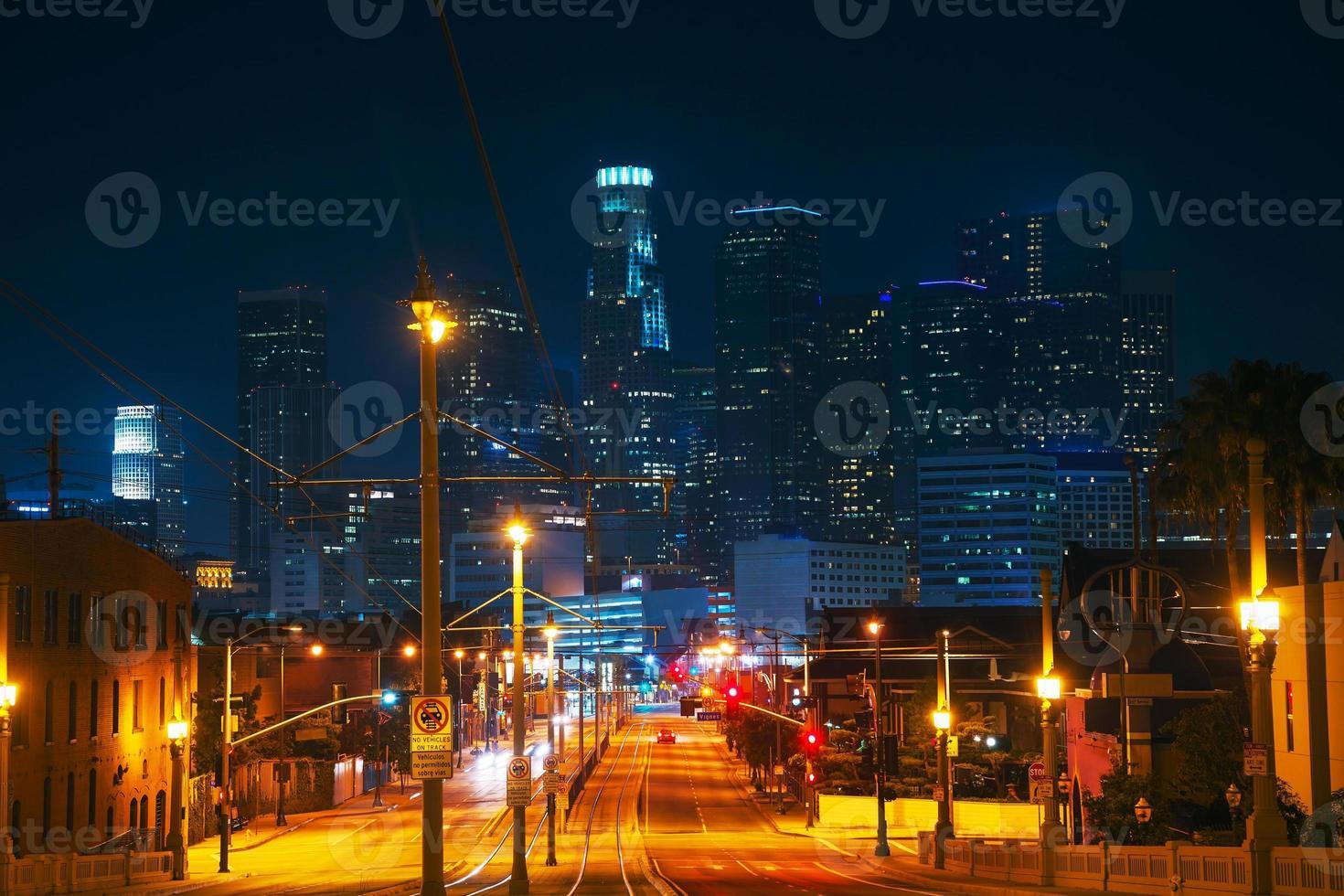 paisagem urbana de los angeles foto