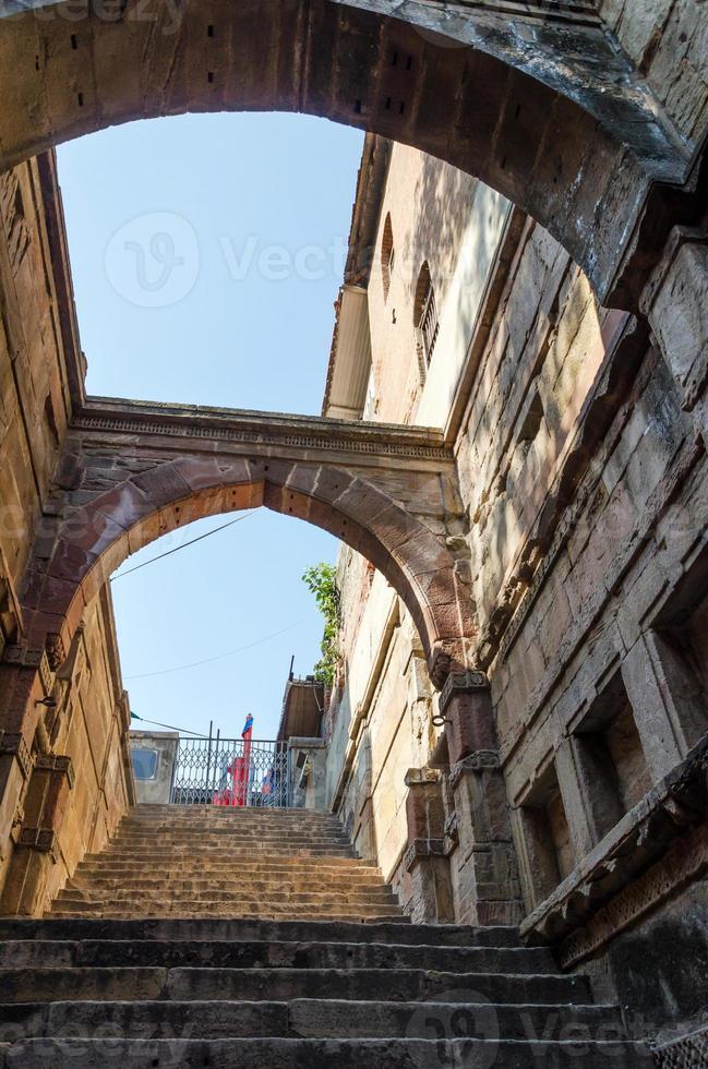Stepwell em Ahmedabad, Índia foto