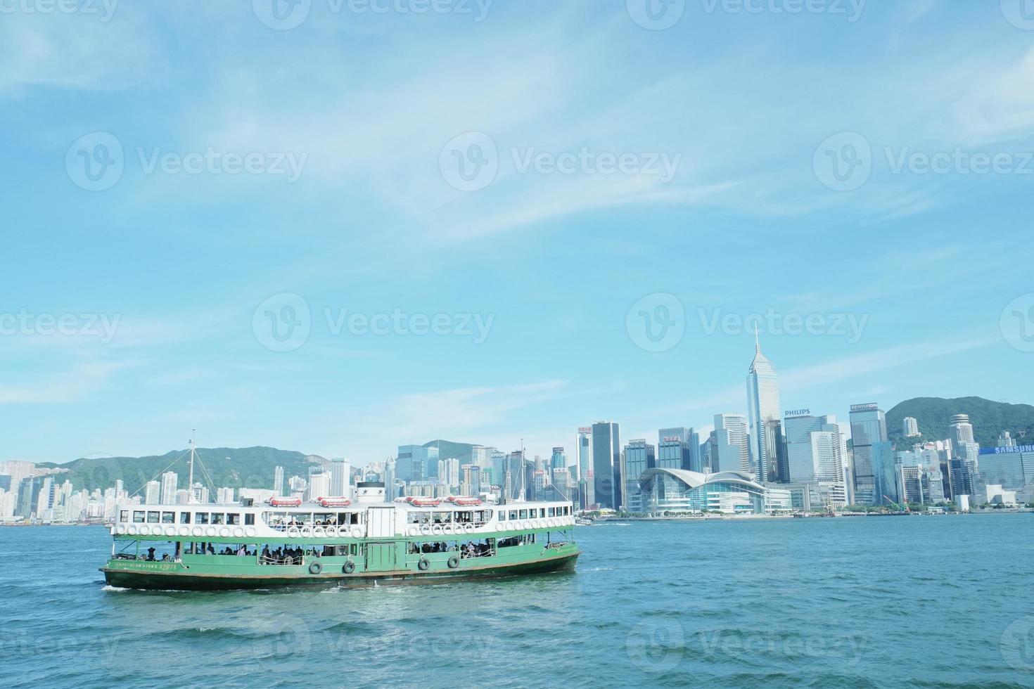 vista de hong kong foto
