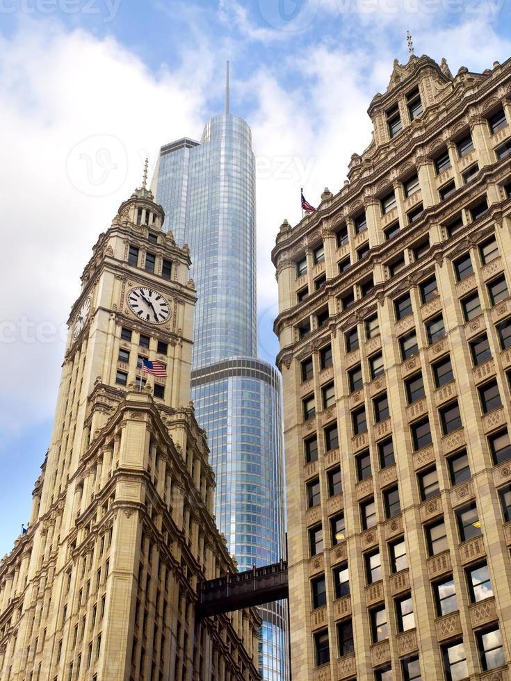 arquitetura mista de chicago foto