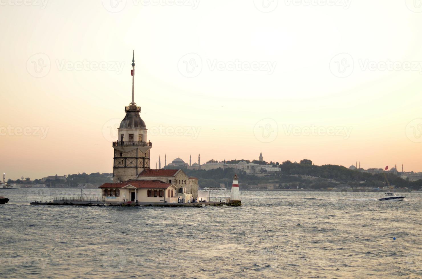 torre da donzela / kiz kulesi foto