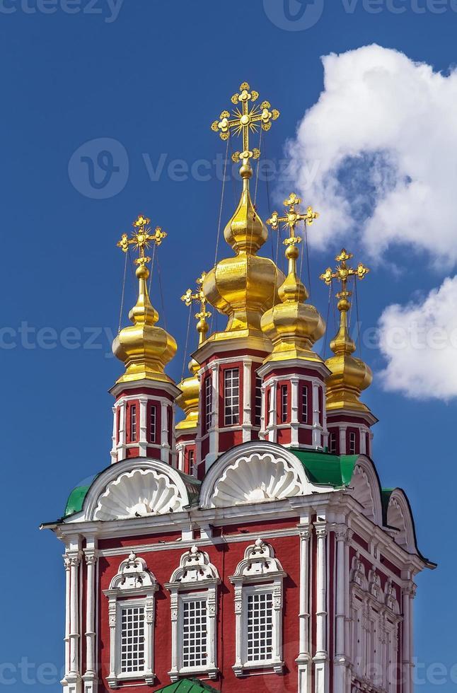 convento novodevichy, moscovo, rússia foto