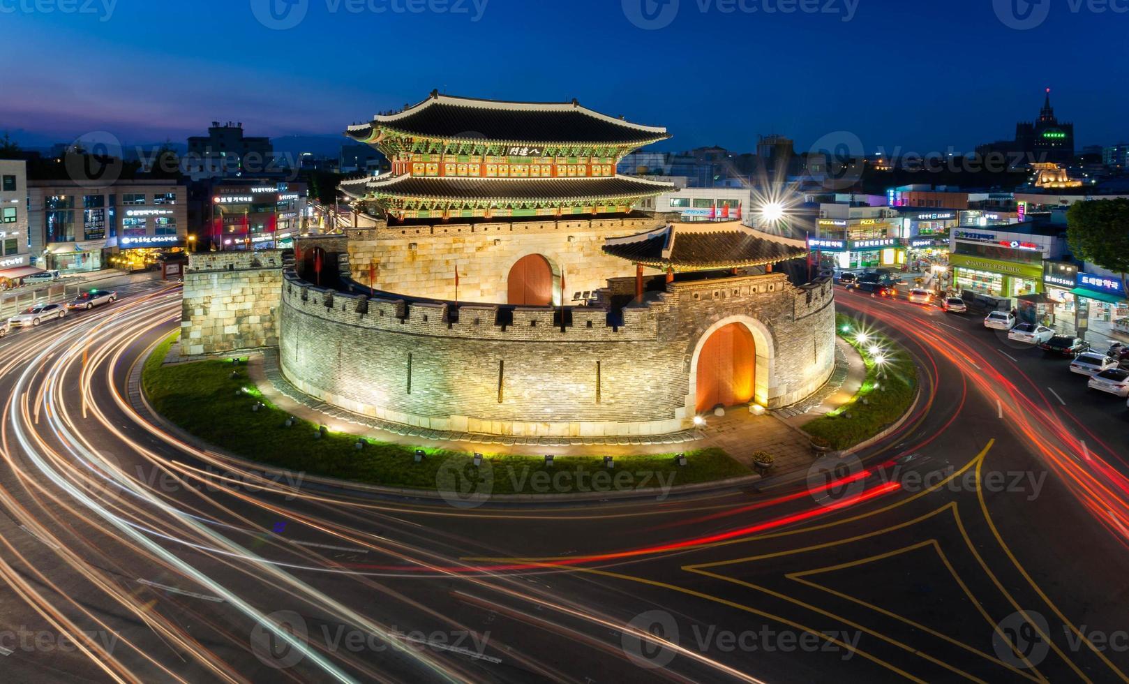 fortaleza de hwaseong (paldalmun) foto