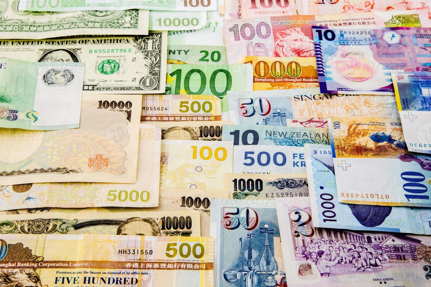 papel moeda foto