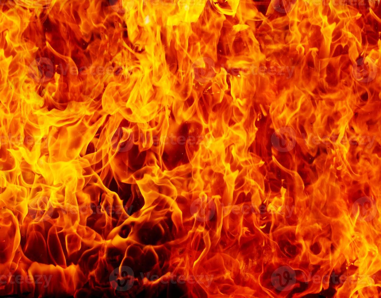 fundo de fogo foto