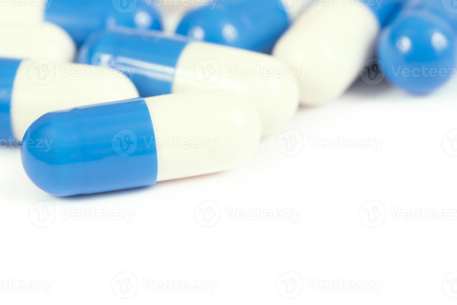 comprimidos - close-up. foto