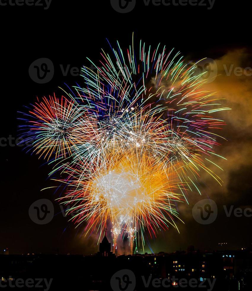 explosão de cores foto