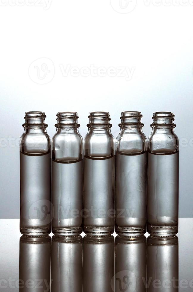 vidraria, tubo de ensaio foto