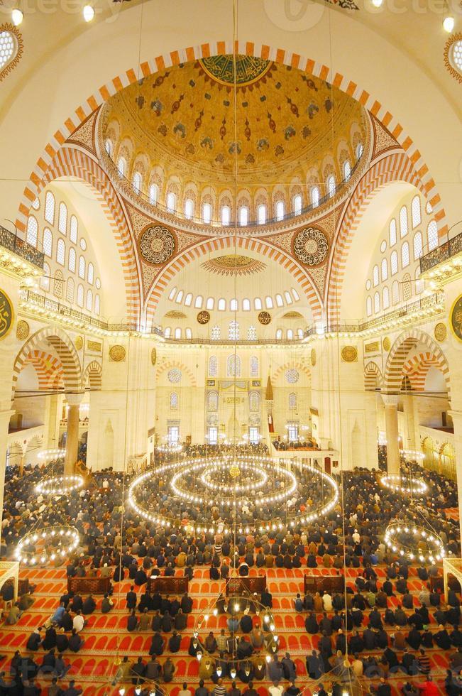 mesquita suleymaniye, turquia foto