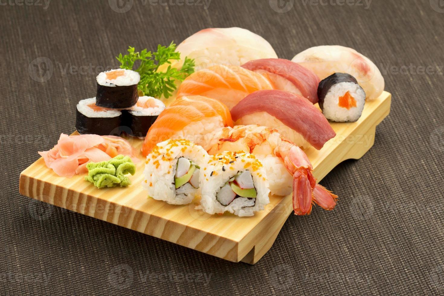 sushi japonês foto