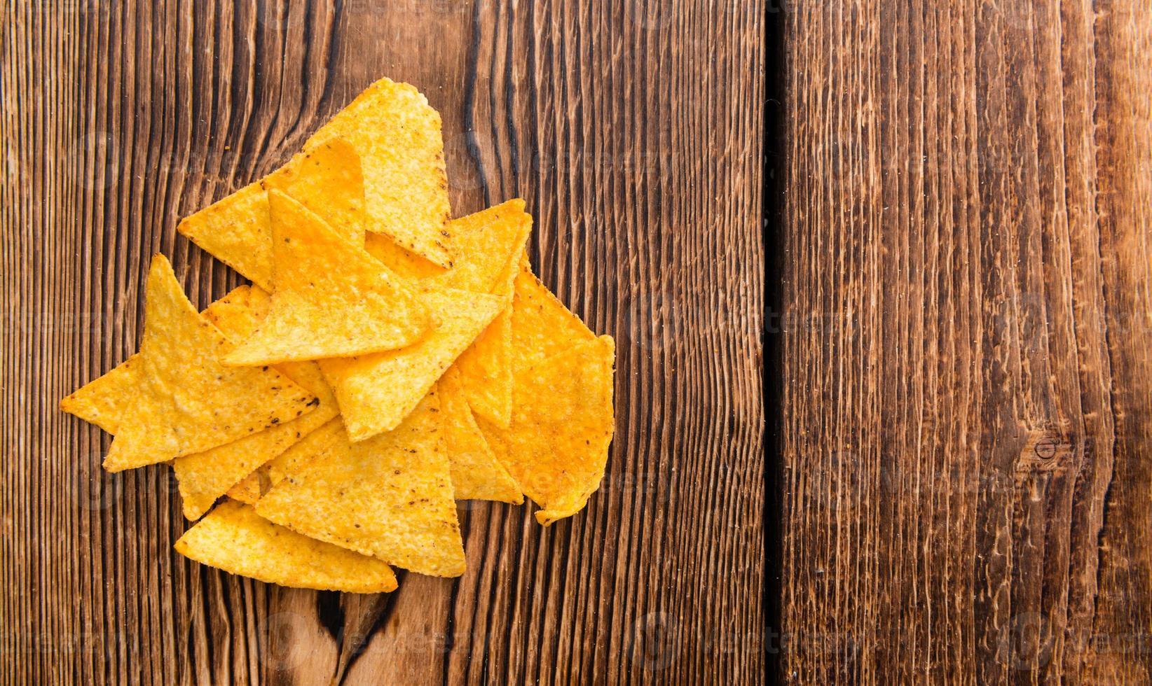 porção de nachos foto