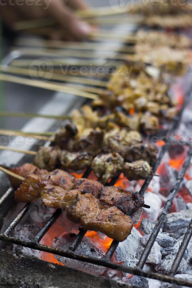 comida de rua filipina foto