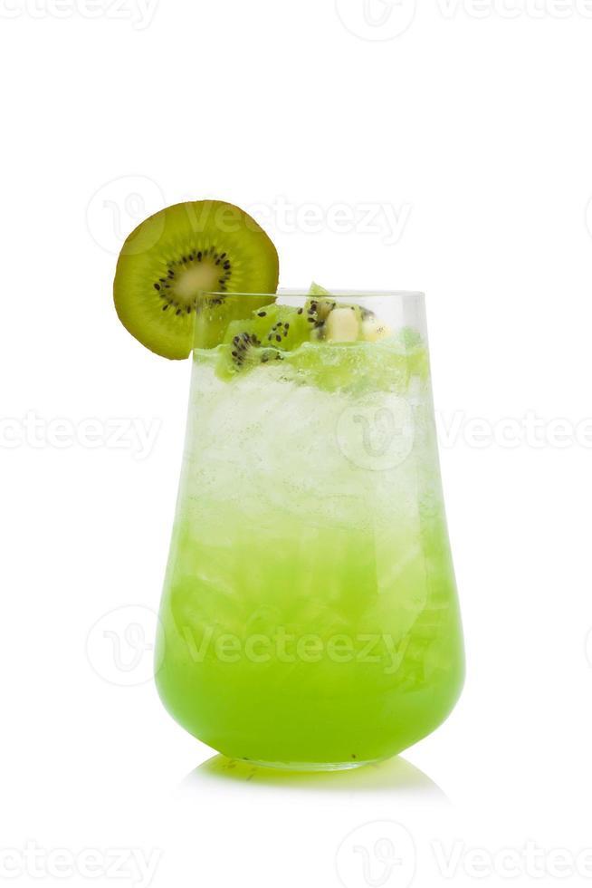 refrigerante de kiwi foto