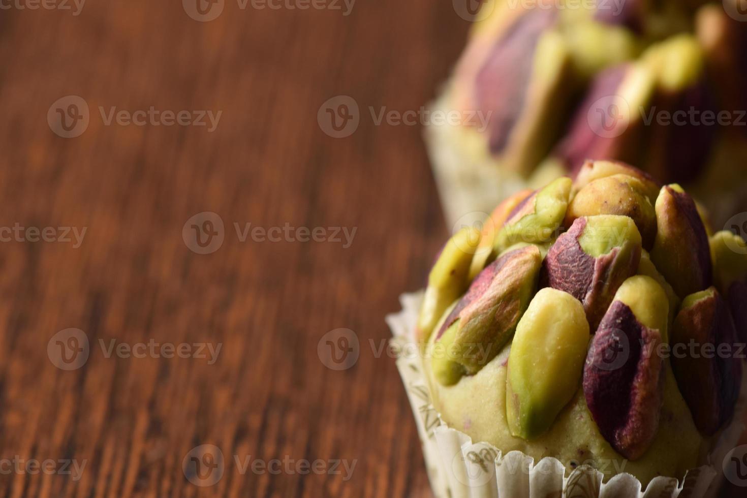 sobremesas árabes. foto