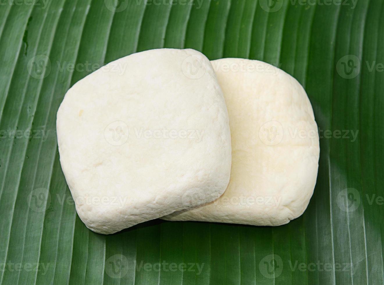 cubos de tofu fresco foto