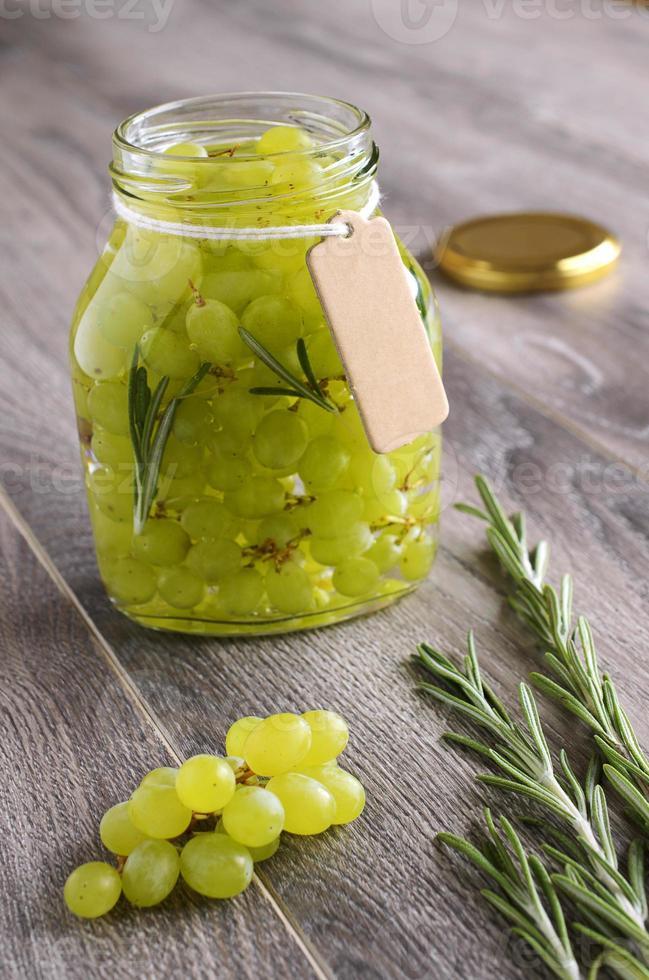 uvas em conserva foto