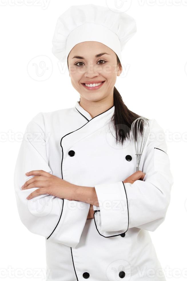 chef feminino foto