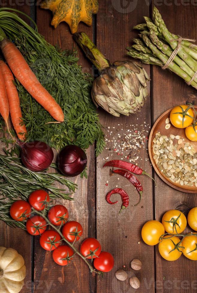 Vegetais frescos foto