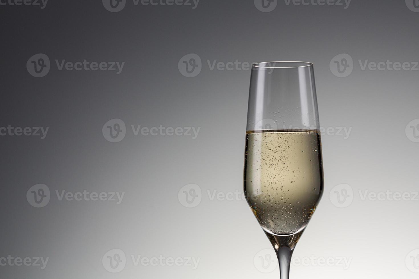 Taça de champanhe foto