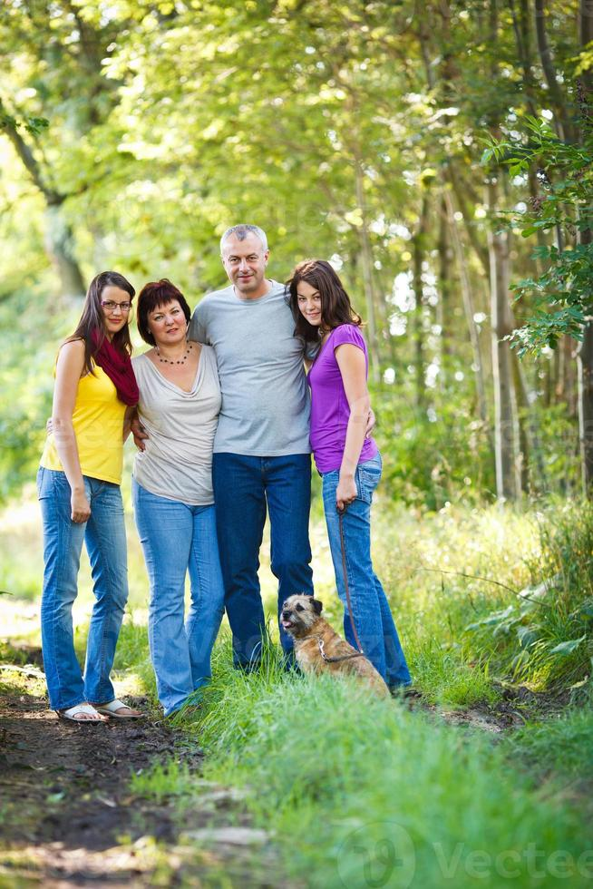 retrato de família foto