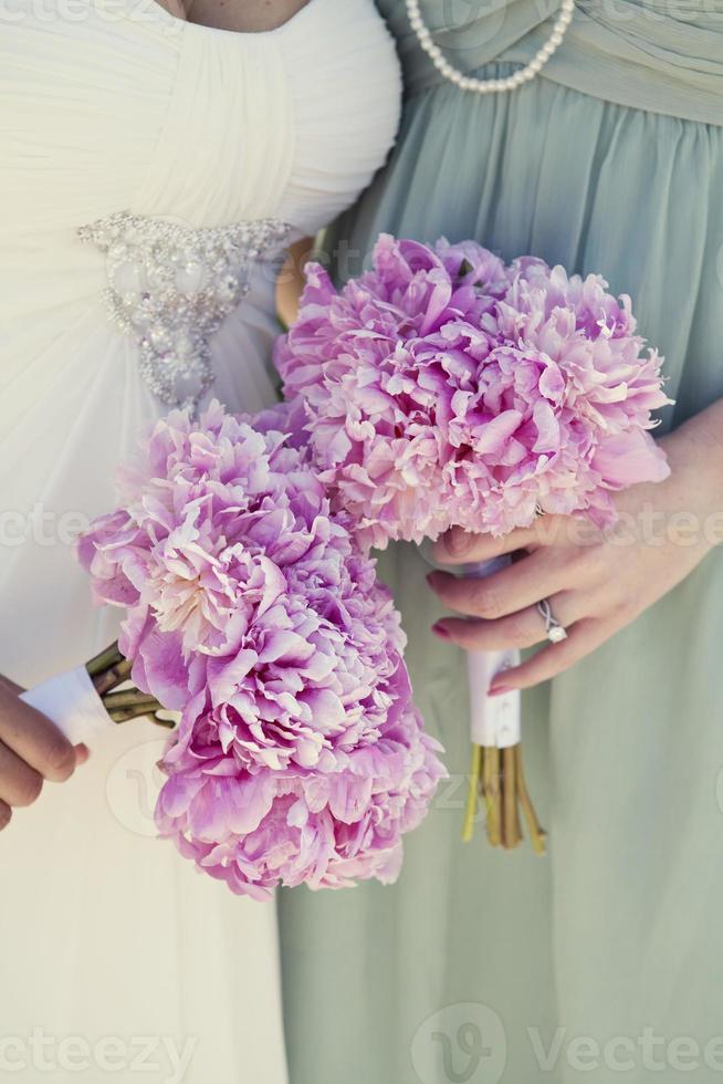 flores do casamento foto